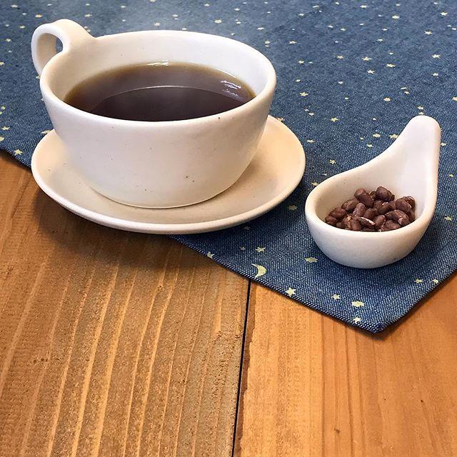 フリーズドライあずきとコーヒーの写真
