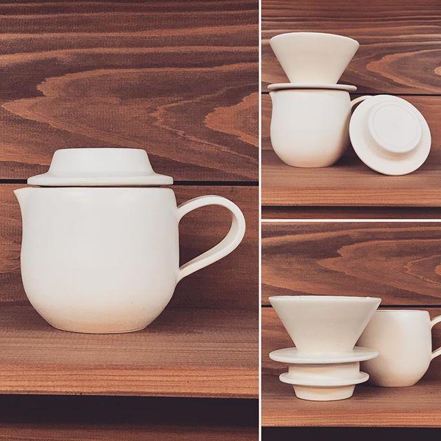 コーヒーハンドドリップ用ピッチャー試作品の写真