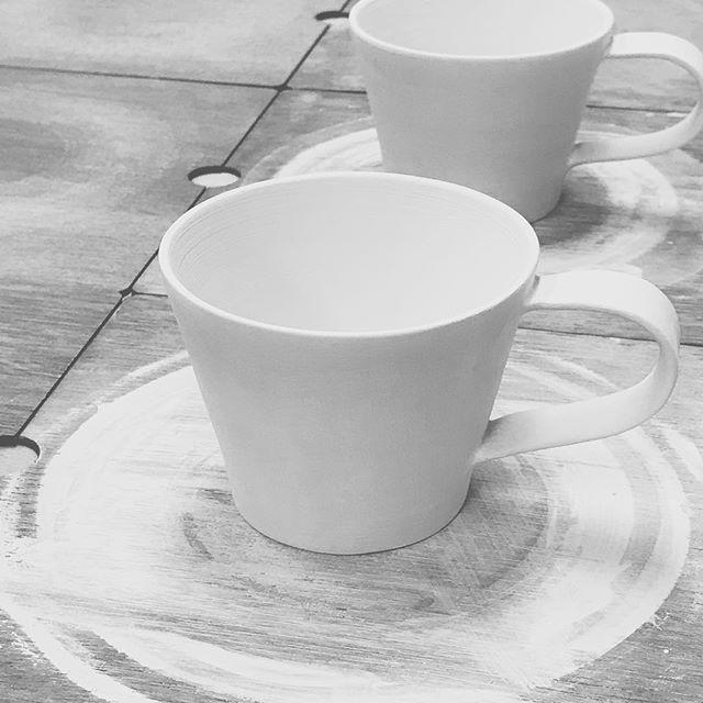 コーヒーカップ試作品の写真