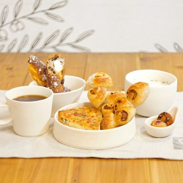 パンとスープとコーヒーでランチセット