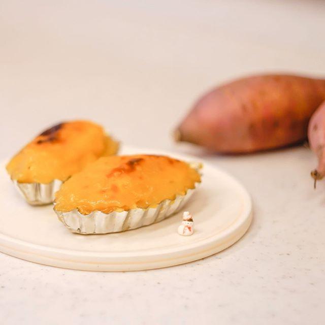 スイートポテトになったサツマイモ