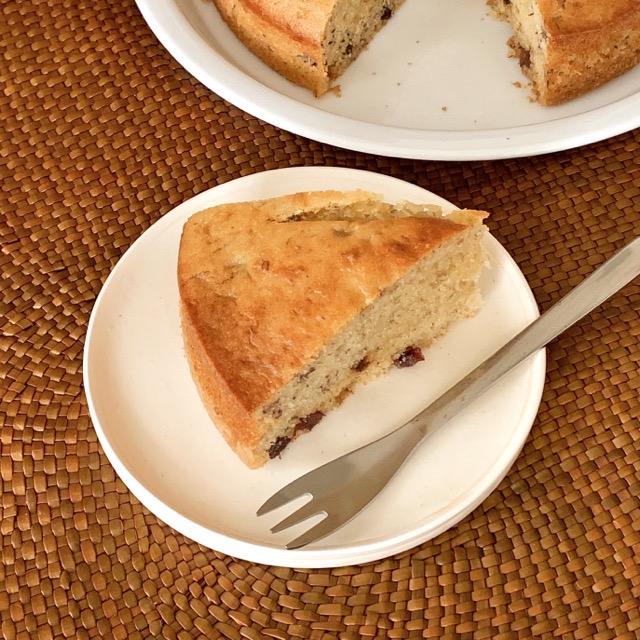 バナナとレーズンのパウンドケーキ